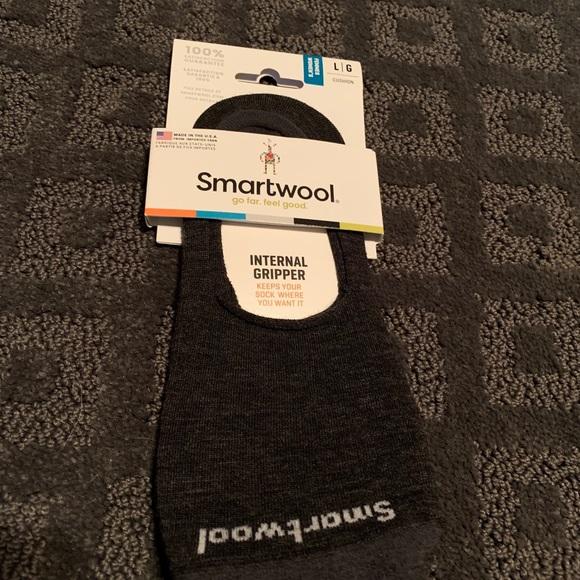 Smartwool women's no show socks.